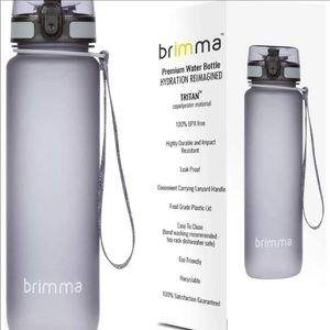18 oz Brimma Premium Water Bottle